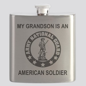 ARNG-My-Grandson-Black Flask