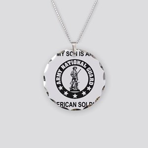 ARNG-My-Son-Black Necklace Circle Charm
