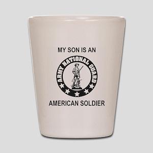 ARNG-My-Son-Black Shot Glass