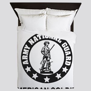 ARNG-My-Son-Black Queen Duvet