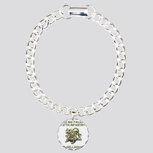 ARNG-127th-Infantry-HHC- Charm Bracelet, One Charm
