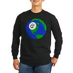 Random World Order Long Sleeve Dark T-Shirt