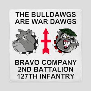 ARNG-127th-Infantry-B-Co-Shirt-5 Queen Duvet