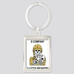 ARNG-127th-Infantry-D-Co-Mousepa Portrait Keychain