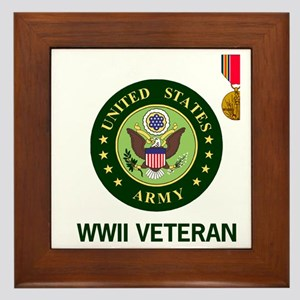 Army-WWII-Shirt-2.gif Framed Tile