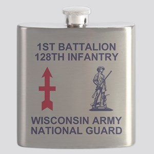 ARNG-128th-Infantry-1st-Bn-Shirt-1 Flask