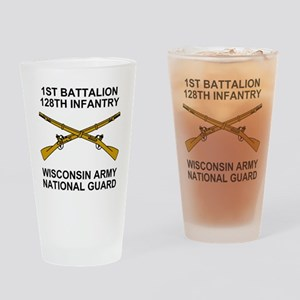 ARNG-128th-Infantry-1st-Bn-Shirt-5. Drinking Glass
