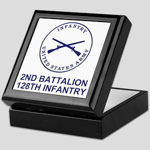 ARNG-128th-Infantry-2nd-Bn-Shirt-7-Bl Keepsake Box