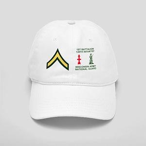 ARNG-128th-Infantry-1st-Bn-PV2-Mug Cap