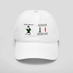 ARNG-128th-Infantry-1st-Bn-Just-Work-Mug Cap