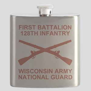 ARNG-128th-Infantry-1st-Bn-Shirt-6-Salmon.gi Flask