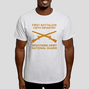 ARNG-128th-Infantry-1st-Bn-Shirt-6-G Light T-Shirt