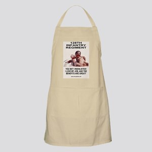 ARNG-128th-Infantry-You-Bet-Poster Apron