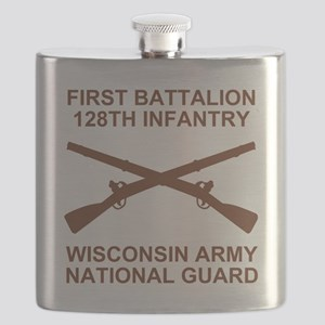 ARNG-128th-Infantry-1st-Bn-Shirt-6-Brown Flask