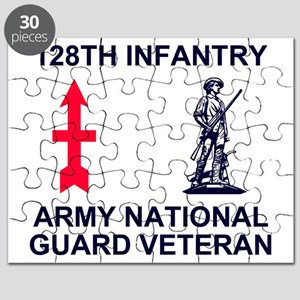 ARNG-128th-Infantry-Veteran-Blue Puzzle