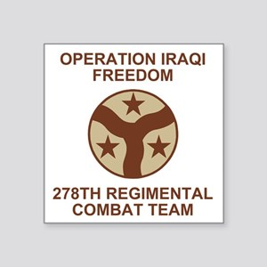 "ARNG-278th-RCT-Iraqi-Freedo Square Sticker 3"" x 3"""