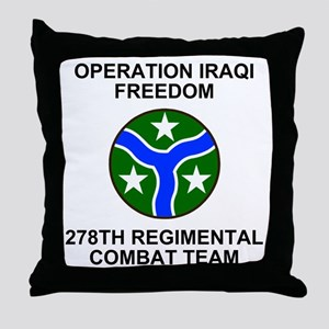 ARNG-278th-RCT-Iraqi-Freedom Throw Pillow