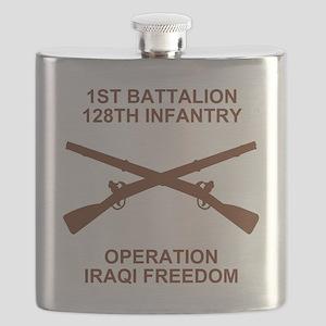 ARNG-128th-Infantry-1st-Bn-Iraq-Shirt-3 Flask