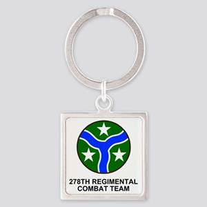 ARNG-278th-RCT-Shirt Square Keychain