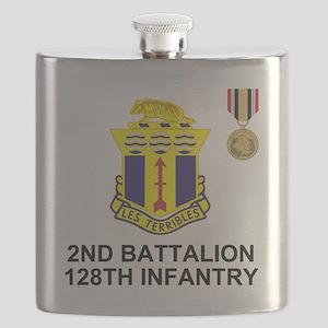 ARNG-128th-Infantry-2nd-Bn-Iraq-Shirt-4 Flask