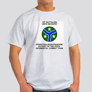 ARNG-128th-Infantry-1st-Bn-Iraq-Shir Light T-Shirt