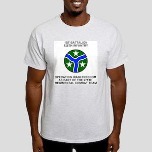ARNG-128th-Infantry-1st-Bn-Iraq-Shir Light T-Shirt