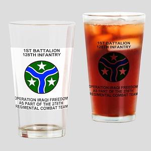 ARNG-128th-Infantry-1st-Bn-Iraq-Shi Drinking Glass