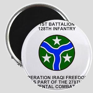 ARNG-128th-Infantry-1st-Bn-Iraq-Shirt Magnet