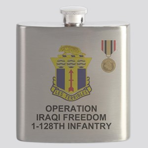 ARNG-128th-Infantry-1st-Bn-Iraq-Shirt-5 Flask