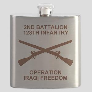 ARNG-128th-Infantry-2nd-Bn-Iraq-Shirt-3 Flask