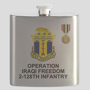 ARNG-128th-Infantry-2nd-Bn-Iraq-Shirt-5 Flask