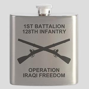 ARNG-128th-Infantry-1st-Bn-Iraq-Shirt-6 Flask