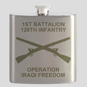 ARNG-128th-Infantry-1st-Bn-Iraq-Shirt-7 Flask