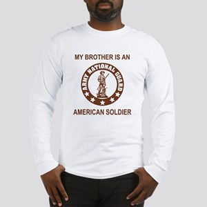 ARNG-My-Brother-Brown Long Sleeve T-Shirt