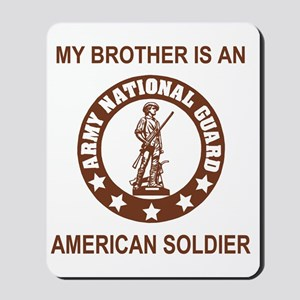 ARNG-My-Brother-Brown Mousepad