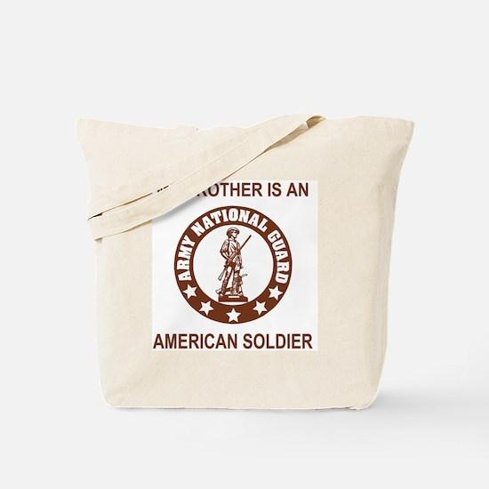 ARNG-My-Brother-Brown.gif Tote Bag
