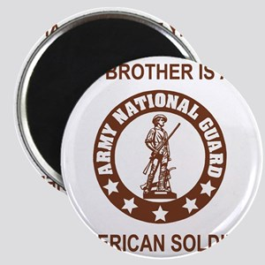 ARNG-My-Brother-Brown Magnet