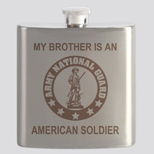 ARNG-My-Brother-Brown Flask