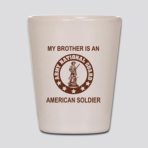 ARNG-My-Brother-Brown Shot Glass