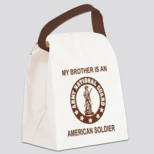 ARNG-My-Brother-Brown Canvas Lunch Bag