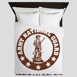 ARNG-My-Brother-Brown Queen Duvet