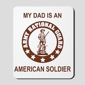 ARNG-My-Dad-Brown Mousepad
