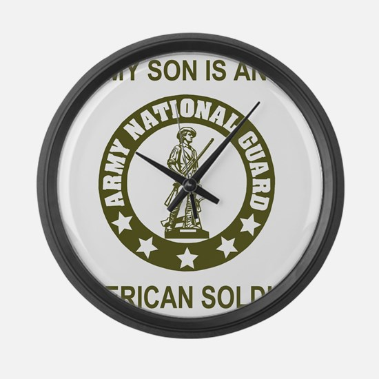 ARNG-My-Son-Avocado.gif Large Wall Clock