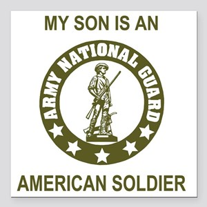 "ARNG-My-Son-Avocado Square Car Magnet 3"" x 3"""
