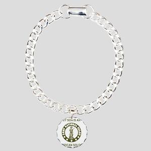 ARNG-My-Son-Avocado.gif Charm Bracelet, One Charm