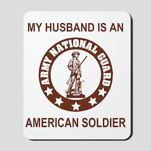 arng-my-husband-brown Mousepad