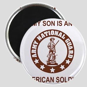 ARNG-My-Son-Brown Magnet