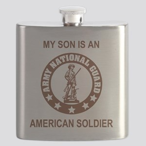 ARNG-My-Son-Brown Flask