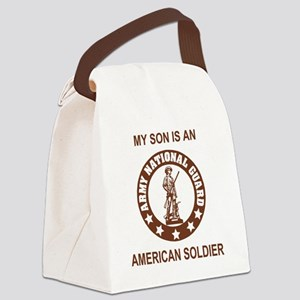 ARNG-My-Son-Brown Canvas Lunch Bag