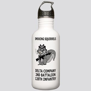 ARNG-128th-Infantry-2n Stainless Water Bottle 1.0L